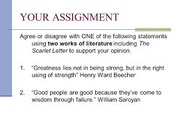 critical lens essays the scarlet letter ppt video online 3 your assignment