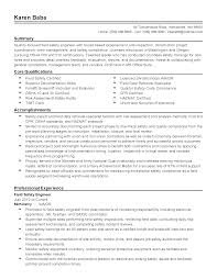 Occupational Health And Safety Specialist Cover Letter Managing
