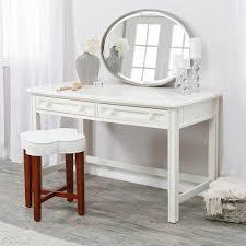 Casey White Bedroom Vanity - Traditional - Bathroom Vanities And ...