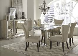mirrored dining table diy aftradition furniture mirrored dining room table