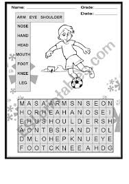 Activity About Body Parts Esl Worksheet By Iricky82