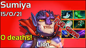 support sumiya lion dota 2 full game party game youtube