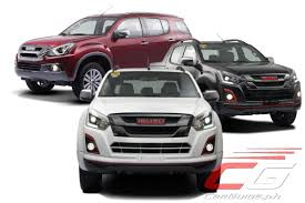 UPDATED: Isuzu Philippines Introduces Limited-Edition mu-X and D ...