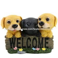 dog figurines polyresin dog statue