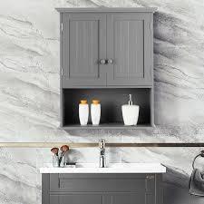 wall mounted bathroom storage cabinet