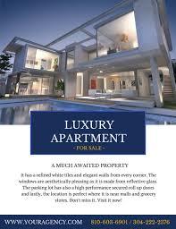 apartment brochure design. Real-estate-flyer-32 Apartment Brochure Design F