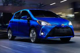 2018 toyota models. 2018 toyota yaris front quarter right photo models