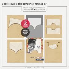 New Pocket Journal Card Templates Simply Tiffany Studios