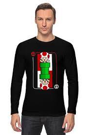 <b>Лонгслив</b> Грибочек из <b>Марио</b> #703864 от coolmag по цене 1 819 ...