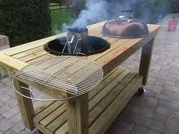 fascinating weber kettle grill table plans of up to season