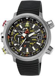 men s citizen eco drive promaster altichron watch bn5030 06e