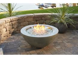 outdoor greatroom 42 round cove fire pit table