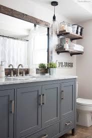 gray bathroom vanities 5 industrial farmhouse bathroom reveal industrial farmhouse industrial and cozy