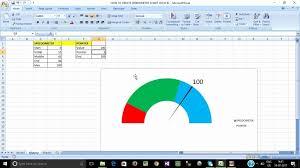 Beautiful 32 Illustration Excel Speedometer Chart Tutorial