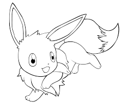 Small Picture Awesome Eevee Coloring Pages Ideas For Your KI 3131 Unknown