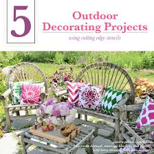 5 outdoor decorating projects using stencils stencil stories stencil stories