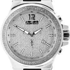 buy mens diamond watches wrist watch for men mens diamond watch joe rodeo liberty jrli4 1 50 ct silver