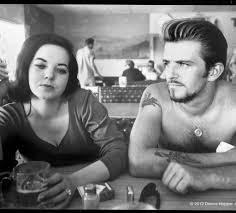 biker couple 1961