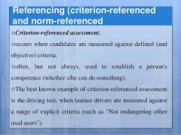 criterion referenced assessment criterion referenced research paper essay writing service