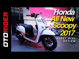 honda all new scoopy 2017 first ride review indonesia otorider