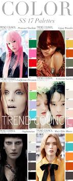 Fashion Vignette Trends Trend Council Colors