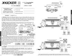 kicker zx7005 page2 kicker zx700 5 user manual page 2 10 on kicker zx700 5 wiring diagram