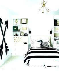 Bedroom Ideas White Black White And Gold Room Decor Black White And ...
