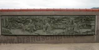 enormous ancient and abstract wall art relief fiberglass statue factory and manufacturers china customized products piedra world limited