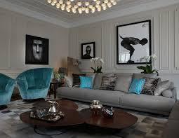 Stylish Living Room Gray Sofa Dark Grey Sofa Living Room