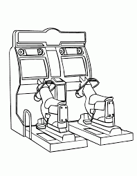 Video Game Coloring Pages Coloring Home