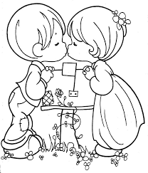 Small Picture Precious moments coloring pages couple ColoringStar