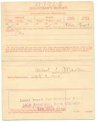 World War I Draft Cards: W. C. Fields   National Archives