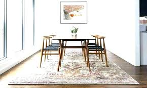 rugs for under dining room tables round rugs for dining room rugs under dining table best