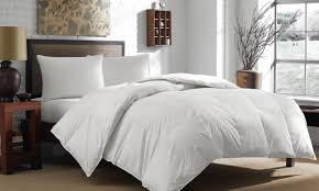 down comforters vs down alternative comforters