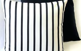 full size of yellow and white striped outdoor pillows covers blue grey stripe excellent black lumbar
