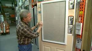 Enclosed Blinds for Entry Doors Todays Homeowner
