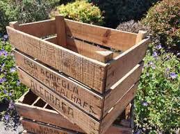 vintage apple crate fruit crates bushel