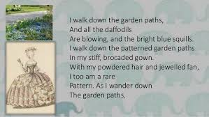 Patterns By Amy Lowell Awesome Patterns By Amy Lowell