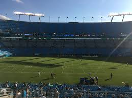 Carolina Panthers Stadium Seating Chart View Bank Of America Stadium Section 316 Rateyourseats Com