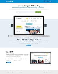 best internet marketing landing page templates marketing landing page