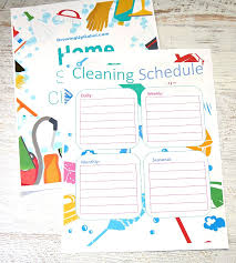 The Ultimate House Cleaning Schedule