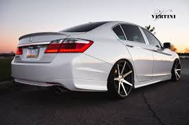 honda accord 2013 jdm. vertini dynasty slate graymachined wheels on 2013 honda accord jdm