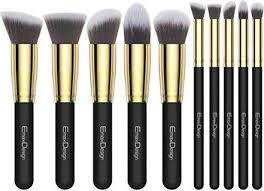 emaxdesign makeup brushes premium makeup brush set 10 pieces professional found in india pare s