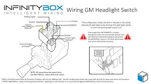 multifunction switch wiring diagram headlight switch • infinitybox how to connect mastercell inputs to your headlight switch infinitybox headlight switch airbag switch box wiring diagram