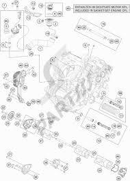Lubricating system ktm 1190 adventure abs orange 2013 eu