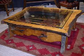 Alluring Display Case Coffee Table With