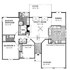 phenomenal 1500 square foot ranch house plans without garage 12 80 best images about floor plans
