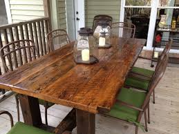 Furniture Kitchen Table Reclaimed Wood Furniture And Barnwood Furniture Custommadecom
