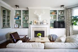 Bookshelves Living Room Simple How To Paint A Bookshelf To Transform Your Room Houzz