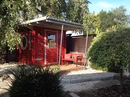 Modernne Gartenhaus Holz Design Modern Ideen_Moderne Flachdach Im ...